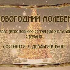 Новогодний молебен 2014