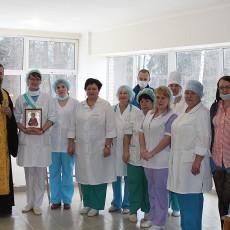 Молебен в больнице 03.02.2015